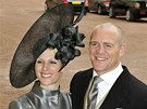 Zara Phillipsová a Mike Tindall