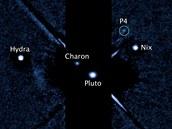 Snímky z Hubbleova teleskopu z června a července letošního roku ukazují nový