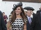 Vévodkyně Catherine na svatbu dalšího kamaráda  Sama Waleyho Cohena zvolila...