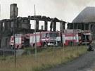 Požár Petrovy boudy v Krkonoších