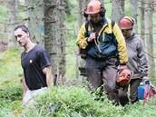 V pondělí pokračovala blokáda aktivistů v těžbě dřeva v NP Šumava.