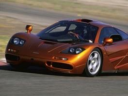 Supersport McLaren F1, který vlastní mimo jiné známý britský komik Rowan