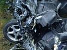 Tragická dopravní nehoda, která si vyžádala tři životy, se stala v pátek 12.