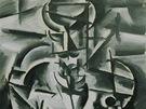 Z výstavy Best of... - Josef Čapek: Piják (1913)