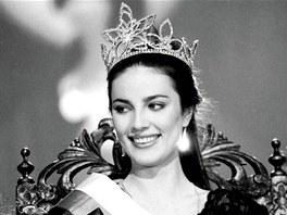 Ivana Christová se stala Miss Československa 9. dubna 1989.
