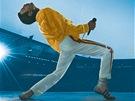 Freddie Mercury na obalu koncertního DVD s názvem Queen: Live at Wembley Stadium