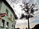 Rumburská restaurace a diskotéka Hvězda ve které pobývala skupina Romů před