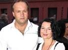 Mirka Čejková s manželem Markem Vítem