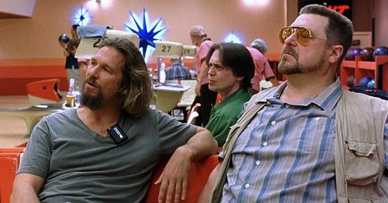 Z filmu Big Lebowski (Jefff Bridges, Steve Buscemi a John Goodman)