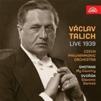 Václav Talich Live 1939 (obal alba)