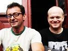 Ondřej Vetchý a David Novotný natáčejí celovečerní Okresní přebor.