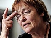 Socioterapeutka Zdena Prokopová - spoluzakladatelka občanského sdružení Rosa, které pomáhá týraným ženám