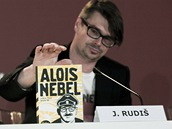 MFF Benátky 2011 - Jaroslav Rudiš na tiskové konferenci k filmu Alois Nebel