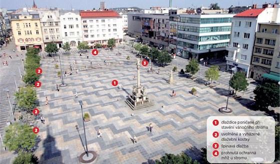 Masarykovo náměstí v Ostravě a jeho problémy