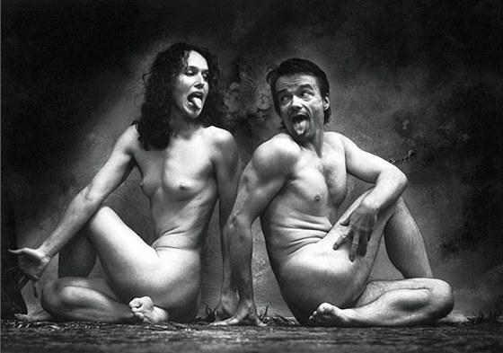 Sára Saudková a Samuel Saudek