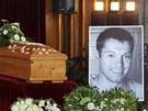 Rodina, nejbližší přátelé a spoluhráči přišli v Havlíčkově Brodě vyprovodit na poslední cestu tragicky zesnulého hokejistu Josefa Vašíčka.