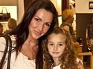 Andrea Vránová Kloboučková s dcerou
