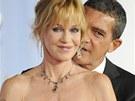 Melanie Griffithová a její manžel Antonio Banderas