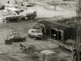 Výstavba Jižního Města na Opatově.