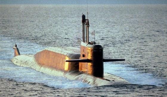 Ruská ponorka třídy Delta IV