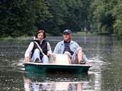 Lodičky a šlapadla se vrátily na Dlouhý rybník v Podzámecké zahradě v Kroměříži.