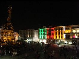 V Olomouci se až do soboty koná Festival světla a videomappingu.