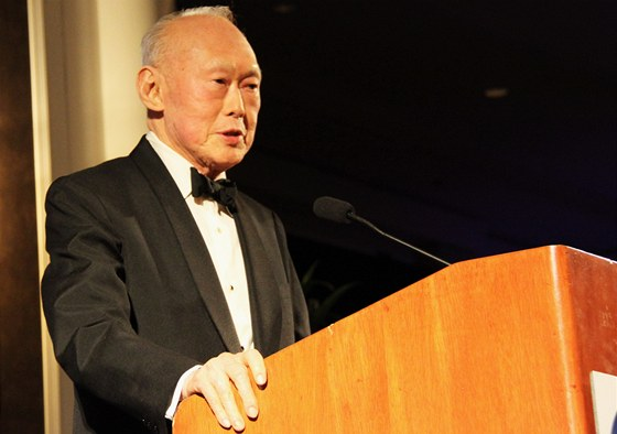 Zakladatel státu Singapur, Li Kuang-jao (Lee Kuan Yew)