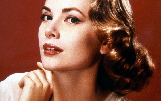 Herečka Grace Kelly