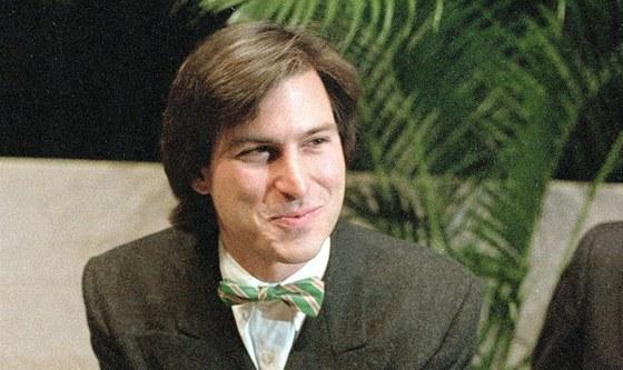 Steve Jobs na snímku z ledna 1984
