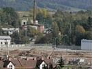 Stavba nové haly Škoda Auto ve Vrchlabí