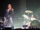 Guns N� Roses - koncert v Budape�ti (�erven 2006) - Axl Rose