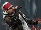 Axl Rose (Guns N´ Roses) na koncertě ve Sturgisu v USA 14. srpna 2010