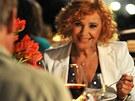 Z natáčení filmu Líbáš jako ďábel - Kamila Magálová