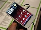 Prost�edí HTC Sense z�stává stejné jako u modelu Sensation.