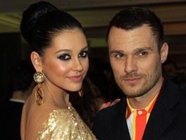 Leo� Mare� a jeho p��telkyn� Hana Svobodov�