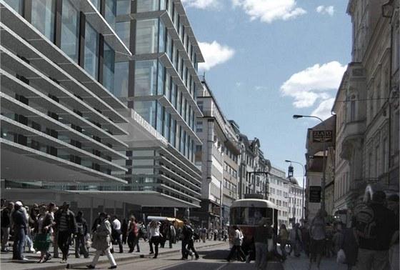 Copa centrum Národní - Stavba Copa centra Národní má trvat 25 měsíců a zasáhne