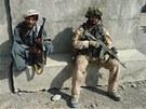 Čeští vojáci v afghánském okrese Chuši