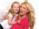 Daniela Peštová a její dcera Ella