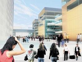 Plán počítá s velkým obchodním centrem přímo ve středu Zlína nedaleko