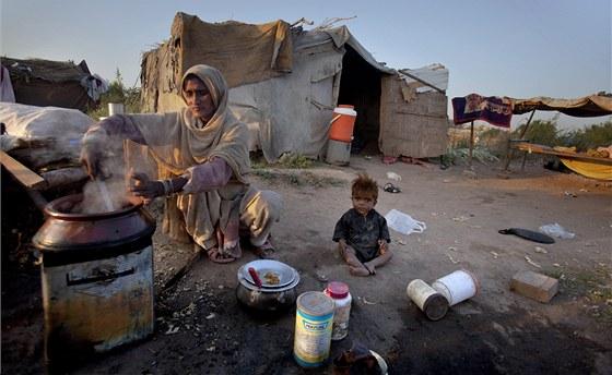 Většina lidi žije v Pákistánu pod hranicí chudoby. Ilustrační snímek
