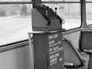 V tomto přístroji si lidé kupovali jízdenky přímo ve vozech tramvají. Strojky...
