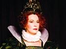 Eliška Balzerová jako Alžběta I. v kalendáři, který vznikl na podporu boje