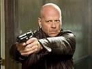 Smrtonosná past 4.0, kterou Bruce Willis natočil v roce 2007. Na pátém díle už