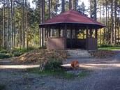 Obnovený lesopark v Perninku.