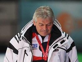 Trenér Petr Novák se svou svěřenkyní Martinou Sáblíkovou.
