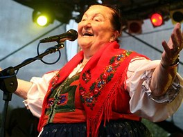 Fleret & Jarmila Šuláková na festivalu Colours of Ostrava v roce 2009