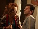 """Z filmu Láska je láska - Simona Stašová a její filmový """"pondpantoflový"""" manžel"""