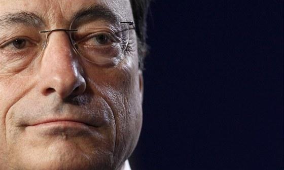 ��f Evropsk� centr�ln� banky Mario Draghi