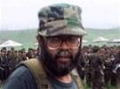 Vůdce FARC Alfonso Cano na archivním snímku z roku 2000.