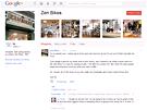 Stránka obchůdku Zen Bikes na Google Plus